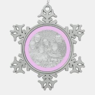Pink Round Border Ornament