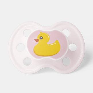 Pink Rubber Ducky 0-6 months BooginHead® Pacifier
