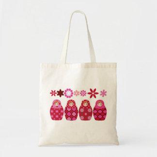 pink Russian headstock Tote Bag