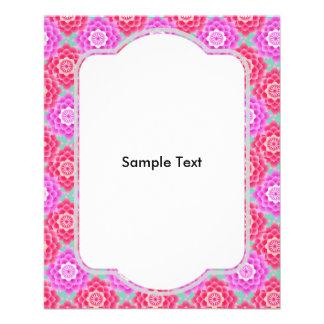 Pink Sacred Lotus Blossoms Asian 11.5 Cm X 14 Cm Flyer