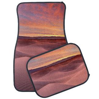 Pink sand dunes, Death Valley, CA Car Mat
