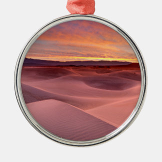Pink sand dunes, Death Valley, CA Christmas Ornament