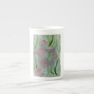 Pink sasquatch with hat mug
