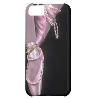 pink satin ballet toe shoes iPhone 5C cover