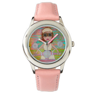Pink Scooter Watch
