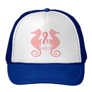 Pink Sea Horses Cap