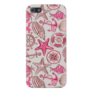 Pink Sea Pattern Case For iPhone 5/5S