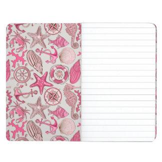 Pink Sea Pattern Journal