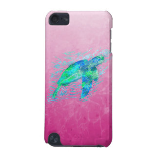Pink Sea Turtle iPod Touch (5th Generation) Covers