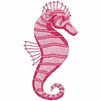 Pink Seahorse Emrboidered Tees