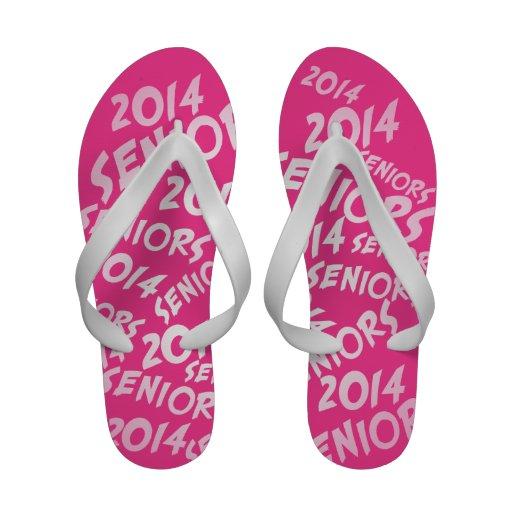 PINK Senior Class Of 2014 Flip-Flops