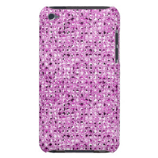 Pink Sequin Effect  Barely There iPod Cover