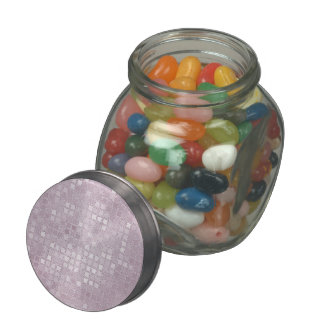Pink Sequin Effect Jelly Belly Candy Jars