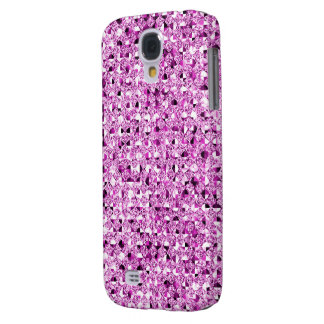 Pink Sequin Effect Phone Cases Galaxy S4 Case