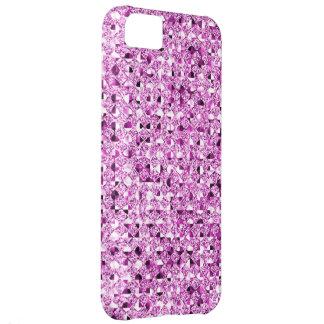 Pink Sequin Effect Phone Cases iPhone 5C Case