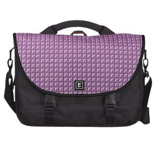 Pink Sequin Sparkle Laptop Commuter Bag