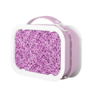 Pink Sequinned Bling Effect Lunch Box
