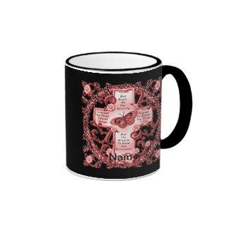Pink Serenity Cross classic mug