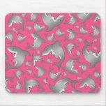 Pink shark pattern
