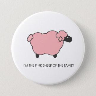 Pink Sheep 7.5 Cm Round Badge