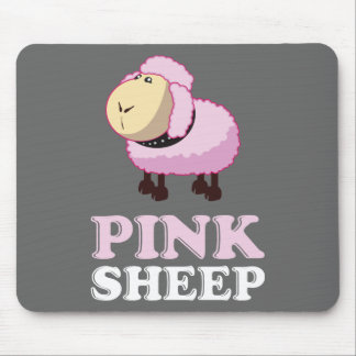 Pink Sheep of the Family Mouse Mat