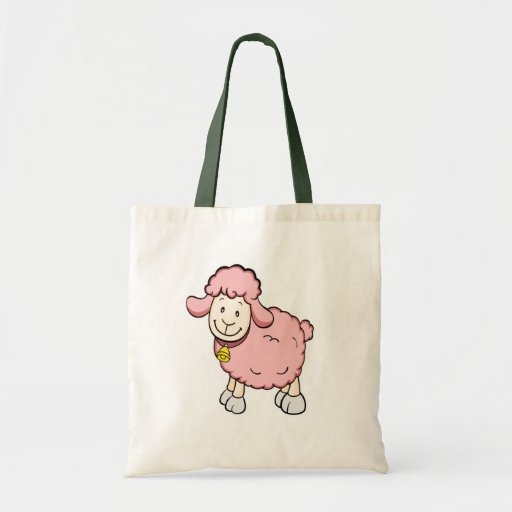 Pink Sheep Tote Bag