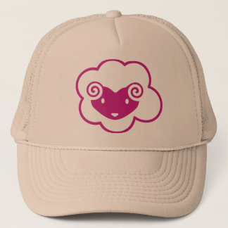PINK SHEEP TRUCKER HAT