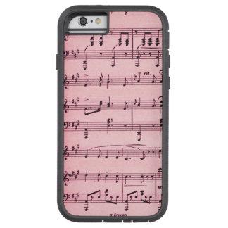 Pink Sheet Music Tough Xtreme iPhone 6 Case