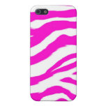 Pink Shel Zebra Pattern iPhone 5 Cover