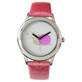Pink Shelled snail Watch