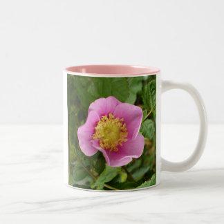 Pink Shrub Rose Blossom Coffee Mug