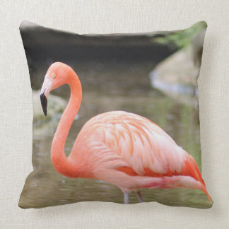 Pink Single Flamingo Pillow