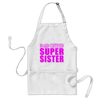 Pink Sisters Birthdays & Christmas : Super Sister Aprons
