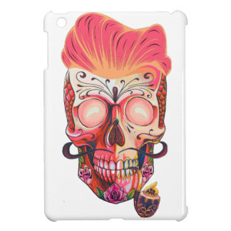 pink skull cover for the iPad mini