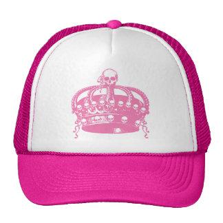 Pink Skull Crown Hat