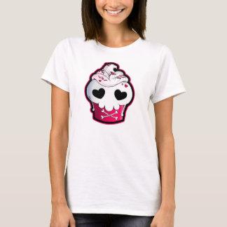 Pink Skull Cupcake T-Shirt