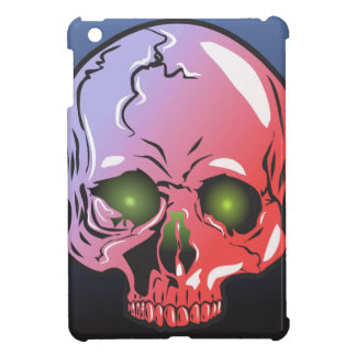 Pink skull iPad mini cases