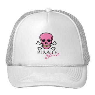 Pink Skull-Pirate Girl Cap