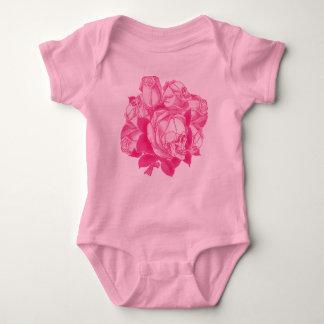 Pink Skull Roses Bouquet Shirt