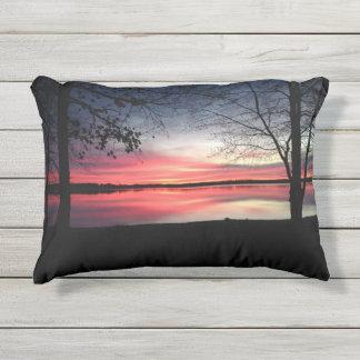 Pink Sky at Morning Pillow