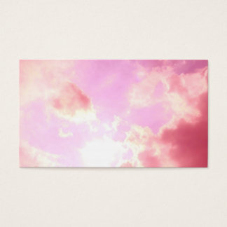 Pink Sky Business Card