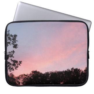 Pink Sky Laptop Case