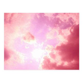 Pink Sky Postcard