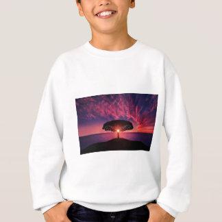 Pink sky sweatshirt