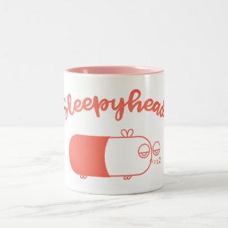 [Pink] Sleepyhead Capsule Bee Mug