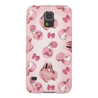 Pink slippers and perfume galaxy s5 cover