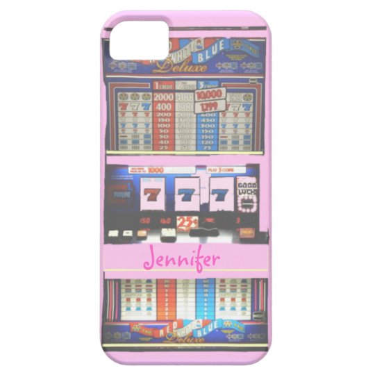 Pink Slot Machine Casino Gambler Case For The iPhone 5