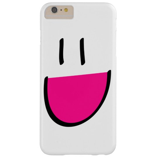 Pink Smiley Face iPhone 6 Plus Case