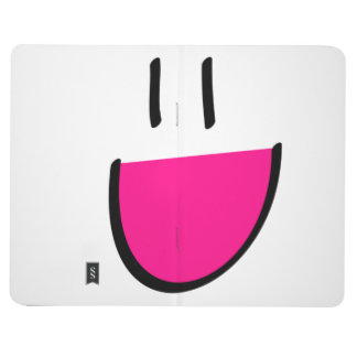 Pink Smiley Face Pocket Journal/Notepad Journal