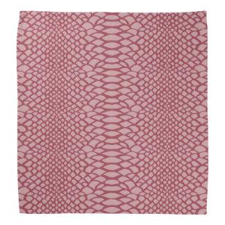 Pink Snake Print Do-rag